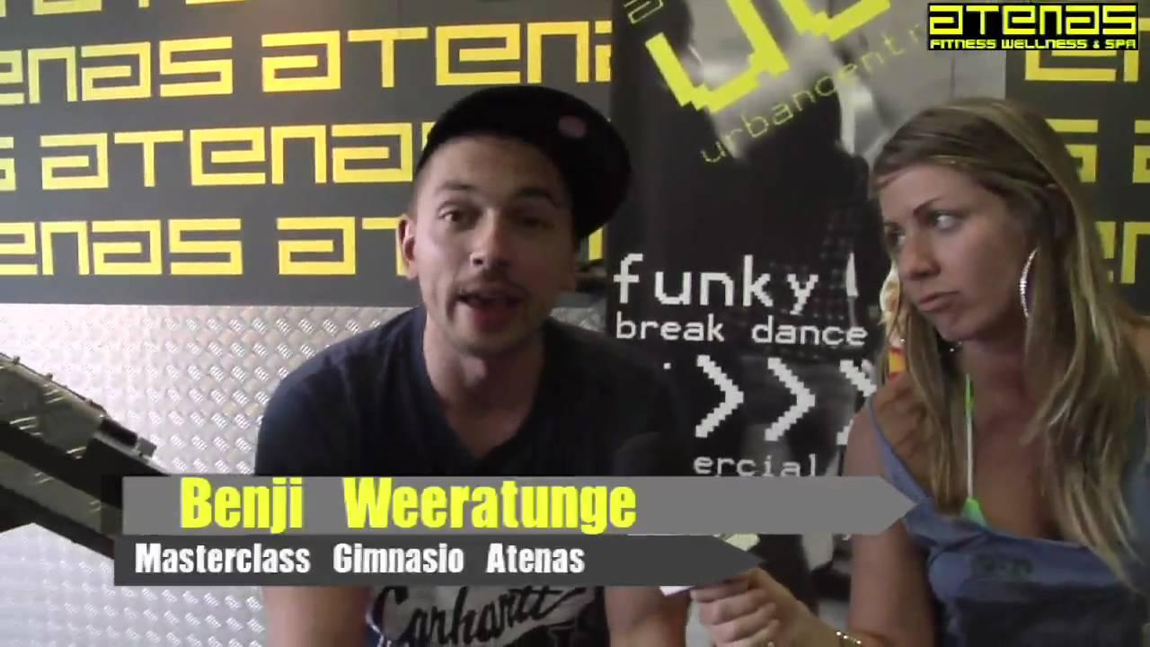 Benji Weeratunge Masterclass en Gimnasio Atenas Benalmadena