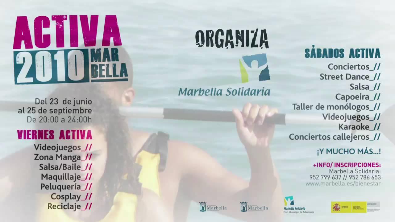 Spot TV Activa Marbella