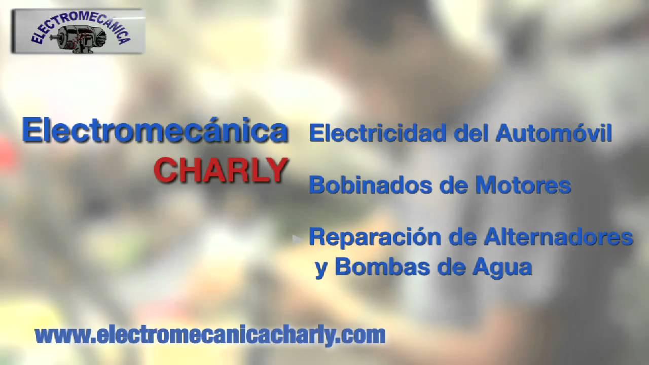 Talleres Charly – Electromecanica del Automovil – Reparacion de Bombas de agua y motores electricos