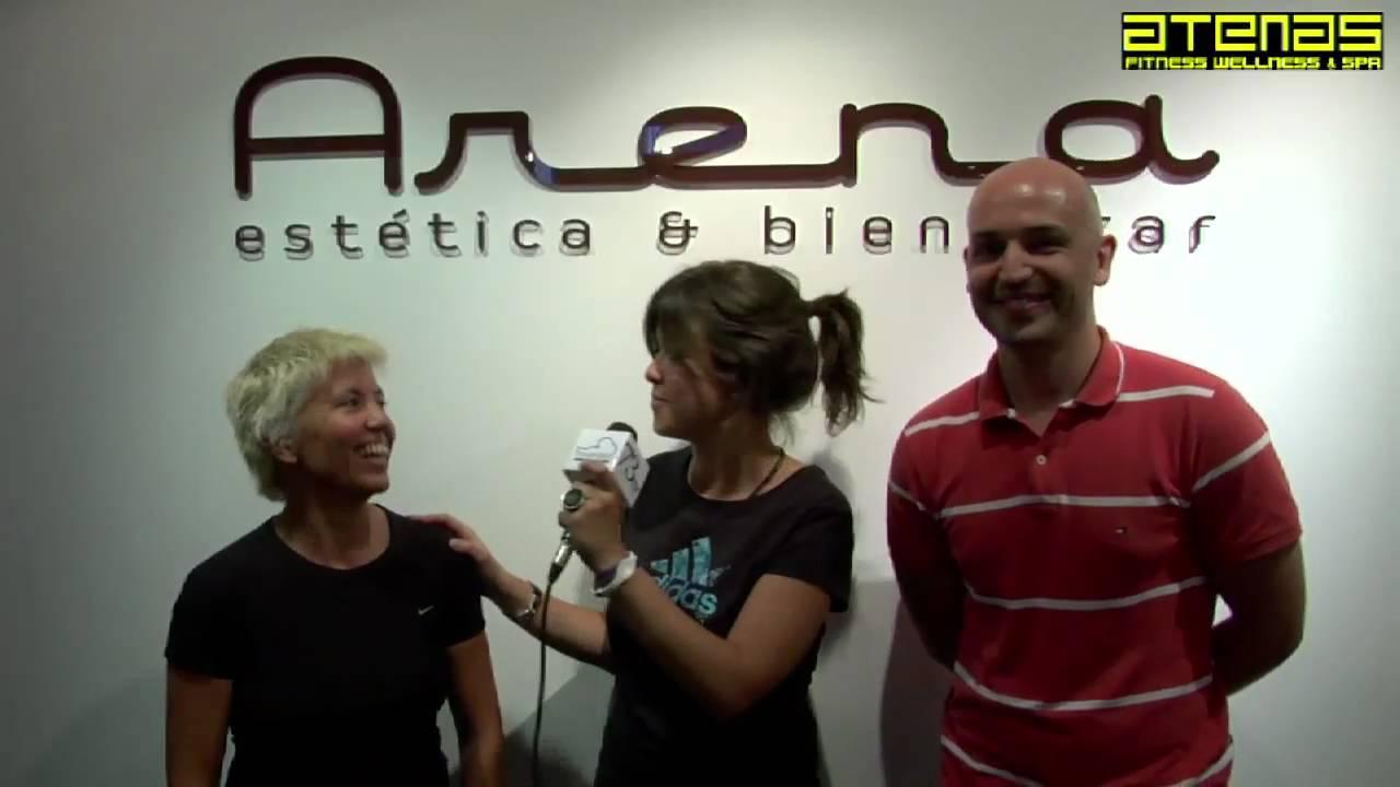 VANESA MARTIN estrena su nuevo single en el Gimnasio Atenas Benalmadena Malaga
